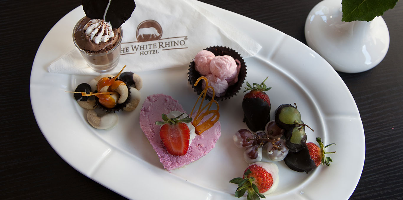The White rhino Hotel Culinary
